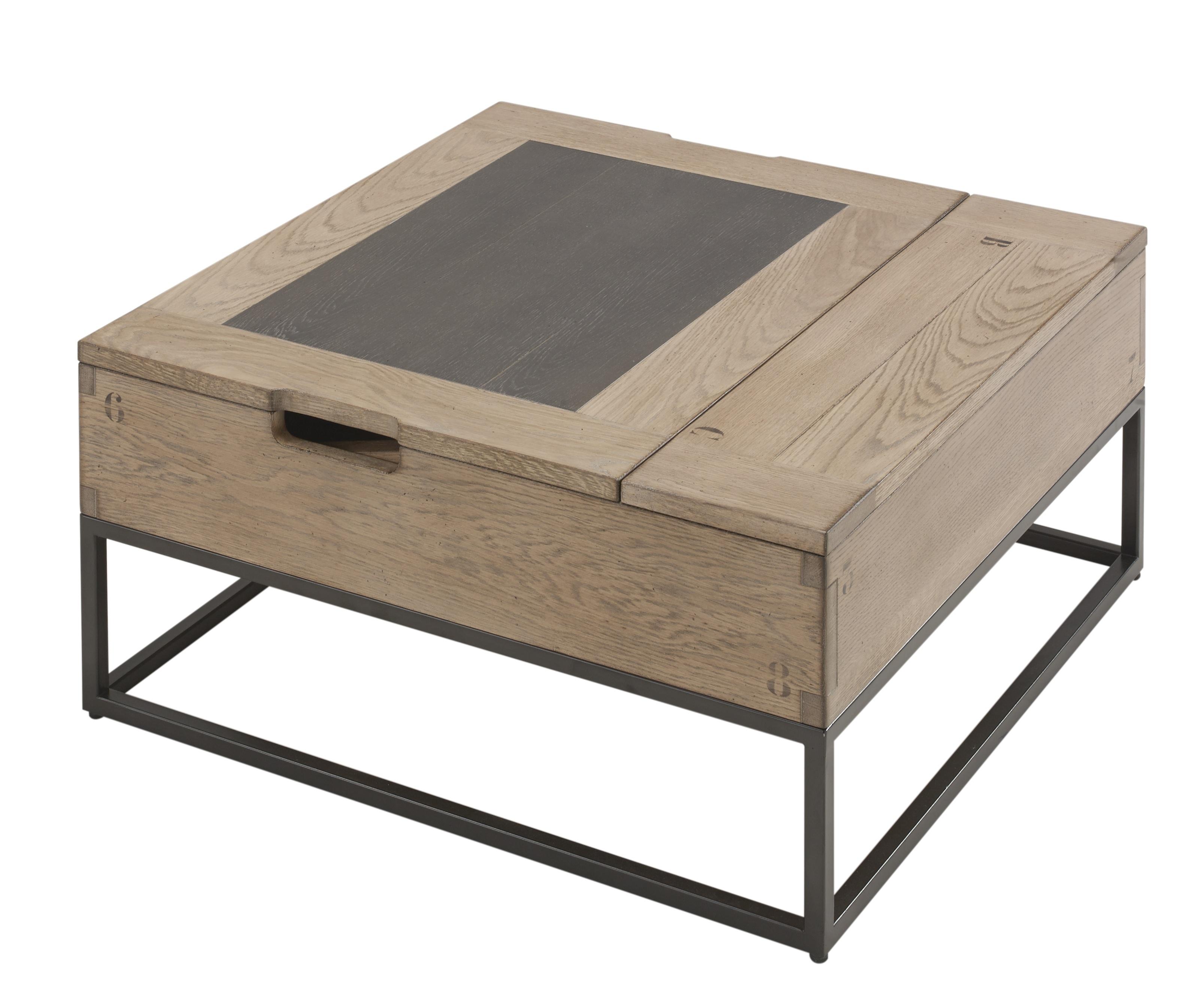 Table basse carrée relevable (Artcopi)